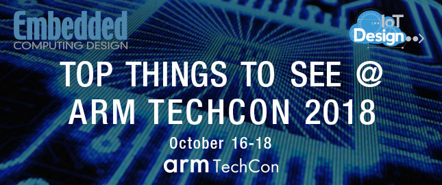 Top Things to See at arm TechCon 2018